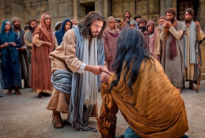 Saosyant y Tonantzin; Jesús y la Virgen - Página 6 La-mujer-ad%C3%BAltera-con-Jes%C3%BAs